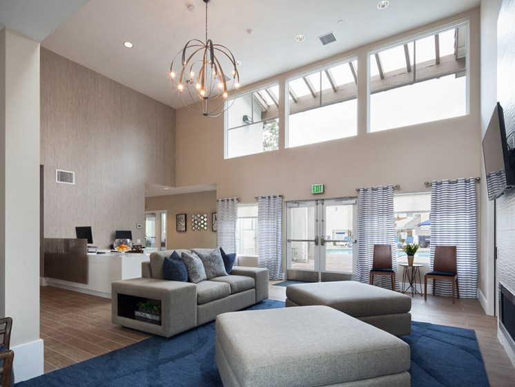 Expansive Clubhouse at The Bryant at Yorba Linda, Yorba Linda, CA