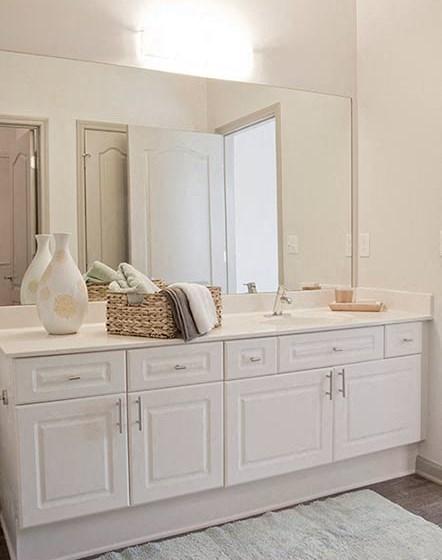 Large Vanity In Bathroom at The Estates at Johns Creek, Alpharetta, GA, 30005