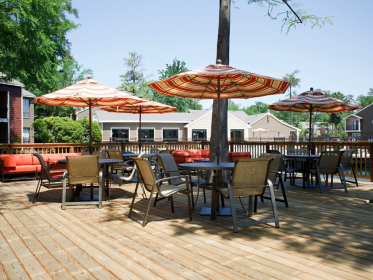 Outdoor Patio Deck Picture