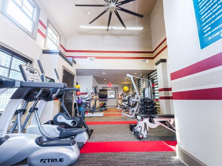 Fitness Center at Uptown Buckhead, Georgia, 30342