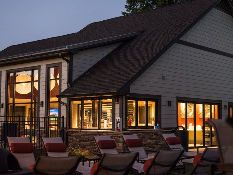 Outdoor Lounge Area at Uptown Buckhead, Georgia