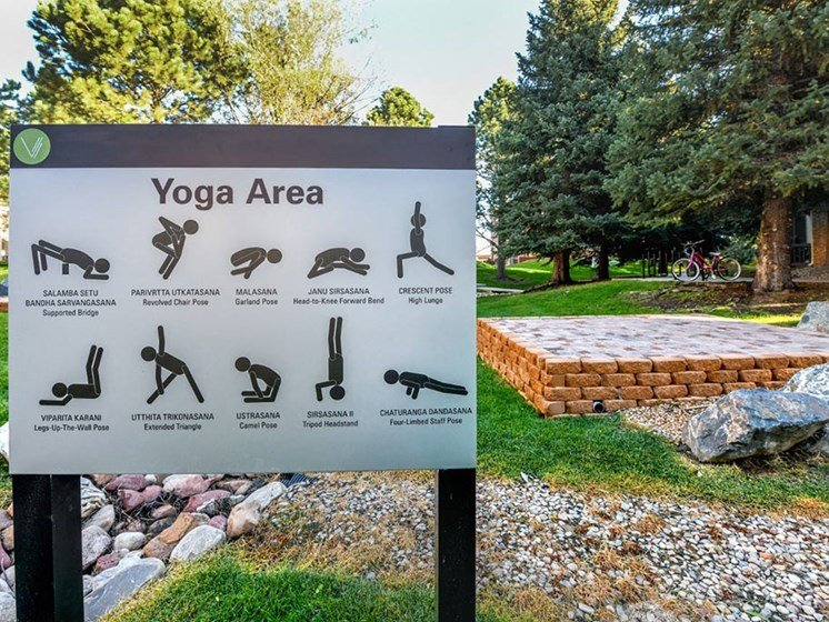 Yoga Area at Verdant Apartment Homes, Colorado, 80303