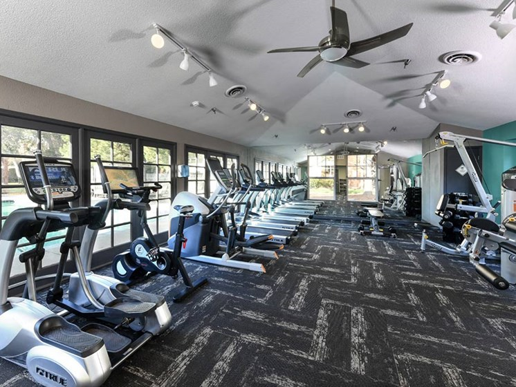 24-Hr Fitness Center at Verdant Apartment Homes, Boulder, CO, 80303