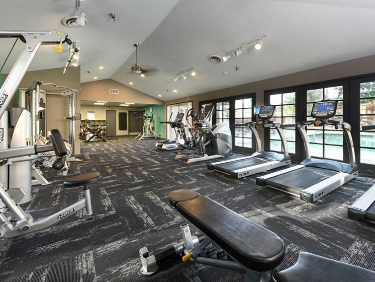 High-Tech Fitness Center at Verdant Apartment Homes, Boulder, CO