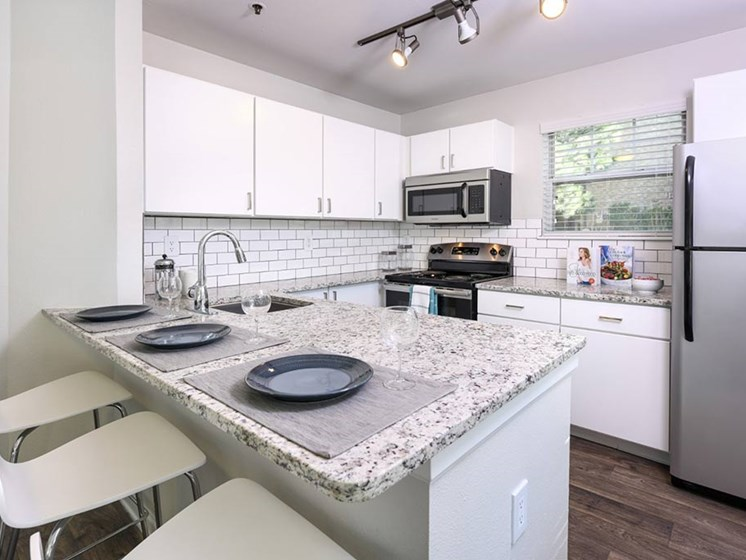Open Kitchen Floor Plan at Verdant Apartment Homes, Colorado