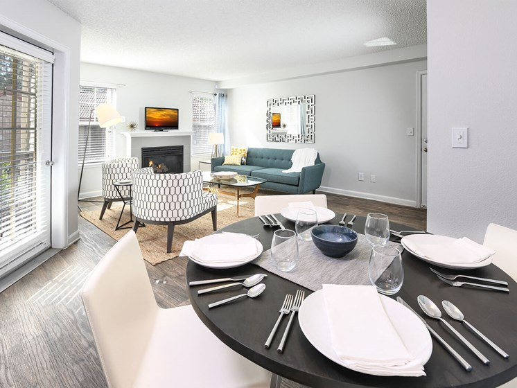Spacious Dining/Hallway at Verdant Apartment Homes, Boulder, CO, 80303