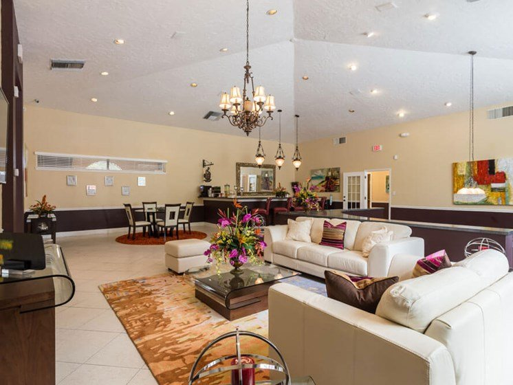 Expansive Clubhouse at Winthrop West Apartment Homes, Florida