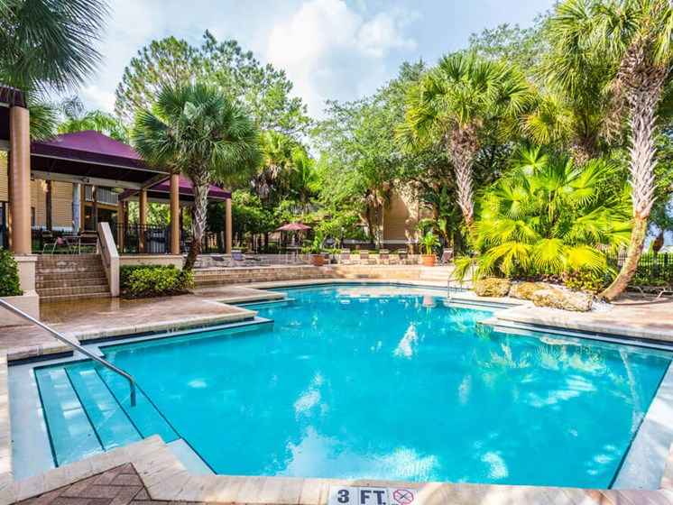 Turquoise Swimming Pool at Winthrop West Apartment Homes, Riverview, 33578
