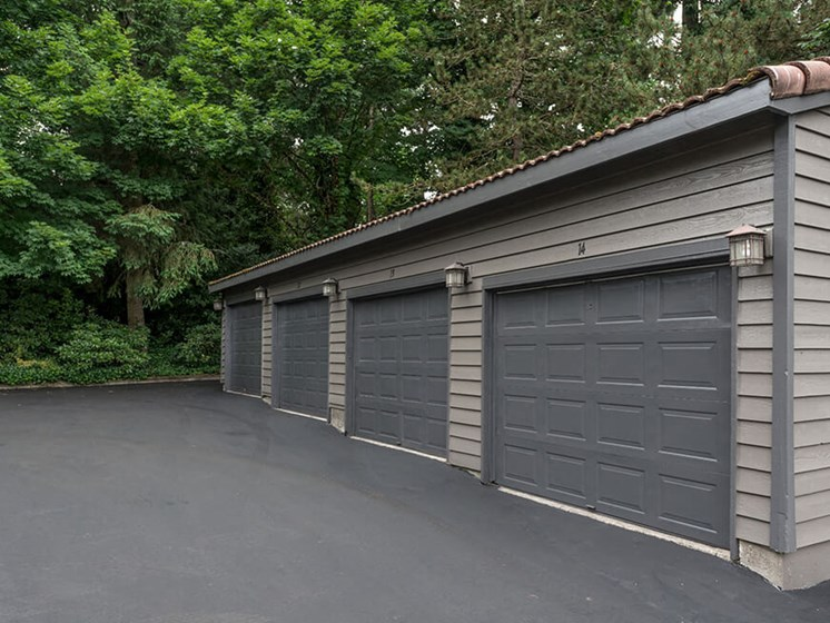 On-Site Garages Available