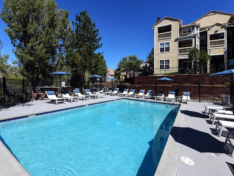 Sparkling Swimming Pool at Arcadia Apartment Homes, Centennial, CO, 80112
