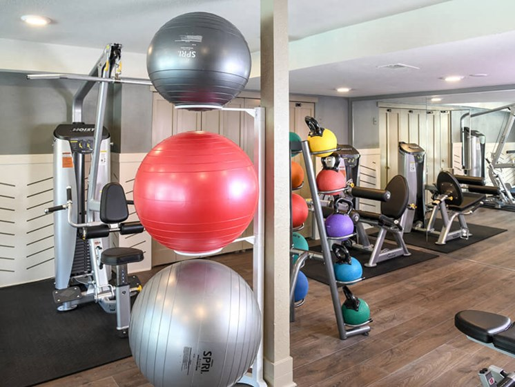 Fully Equipped Fitness Center at Arcadia Apartment Homes, Centennial, 80112