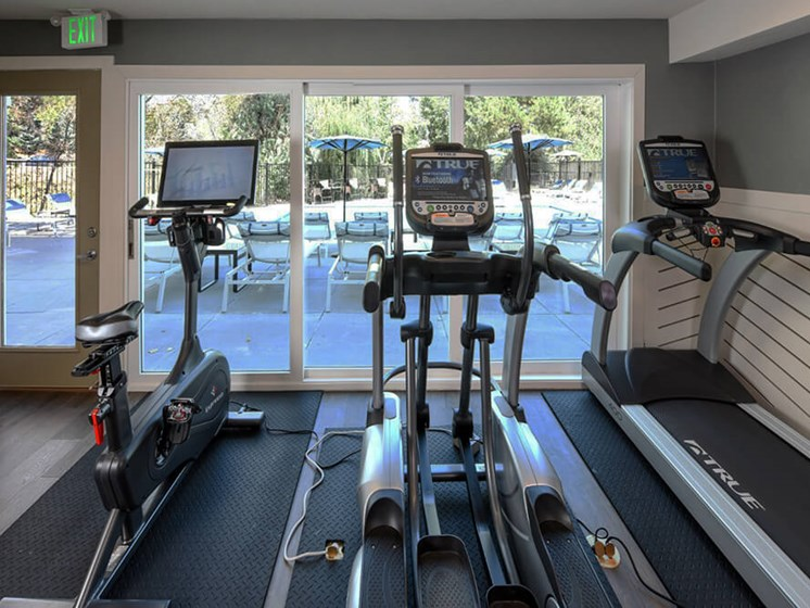 Cardio Studio Equipment at Arcadia Apartment Homes, Centennial, Colorado