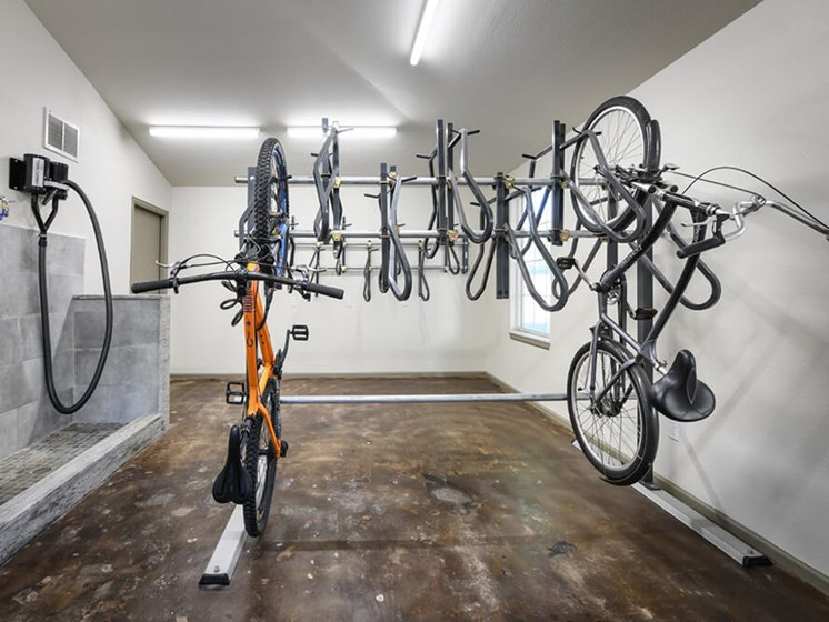 Bike Storage Facility at Arcadia Apartment Homes, Centennial