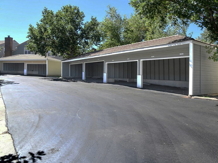 Garages Available at Arcadia Apartment Homes, Colorado