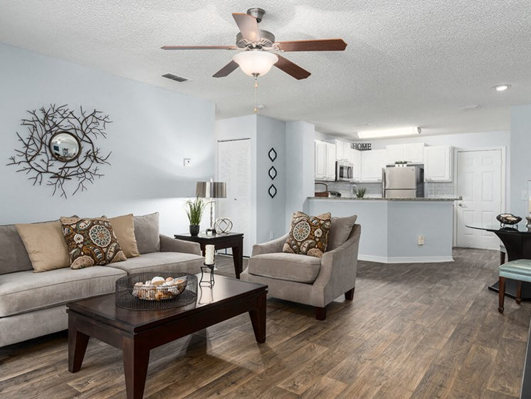 Ceiling Fans With Light at Bay Club Apartments, Florida, 32256
