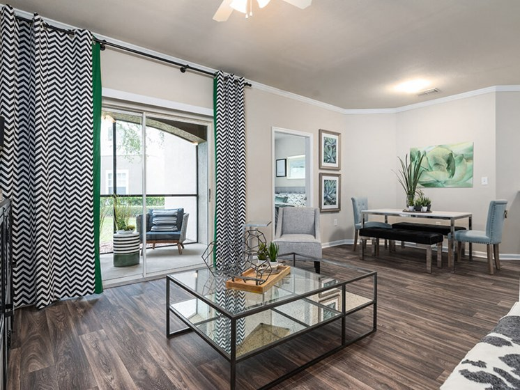 Private Balcony With Apartment at Courtney Meadows, Jacksonville