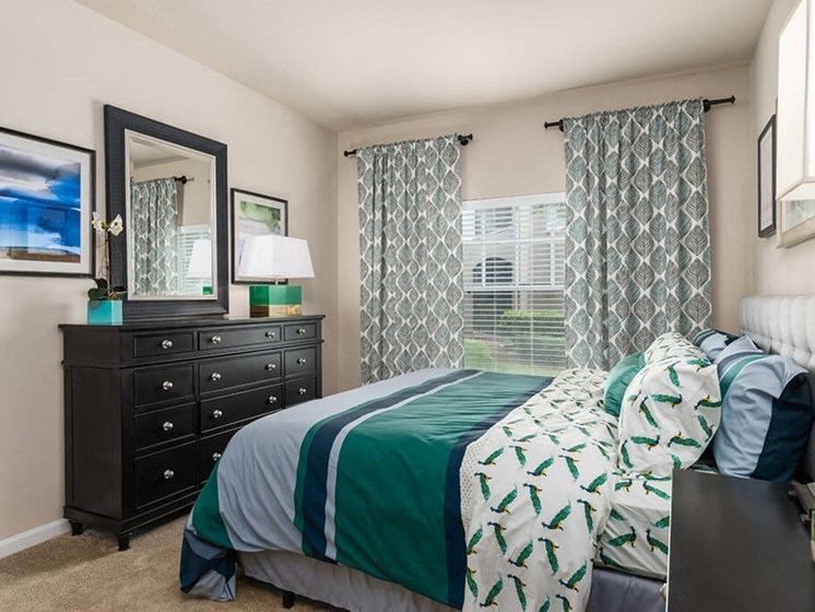 Well Appointed Bedroom at Courtney Meadows, Jacksonville, FL, 32256
