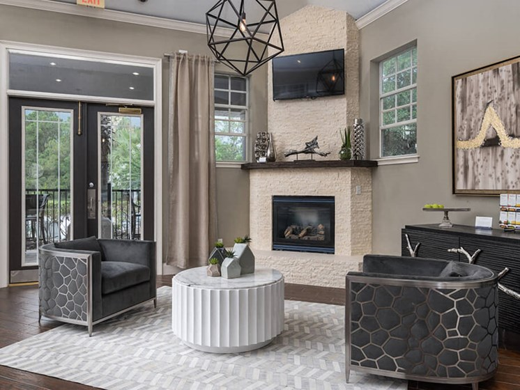 Modern Furnishings In Resident  Clubhouse at Courtney Meadows, Florida, 32256