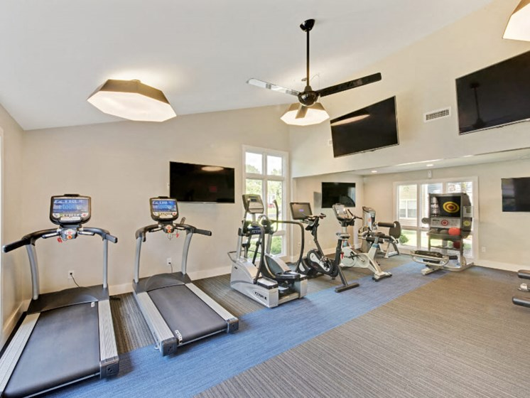 Upgraded Fitness Center at Crosstown at Chapel Hill, Chapel Hill, North Carolina