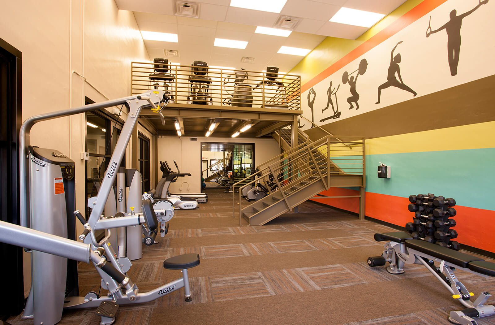 Two-Story 24/7 Fitness Center at Heritage Pointe, Gilbert, Arizona
