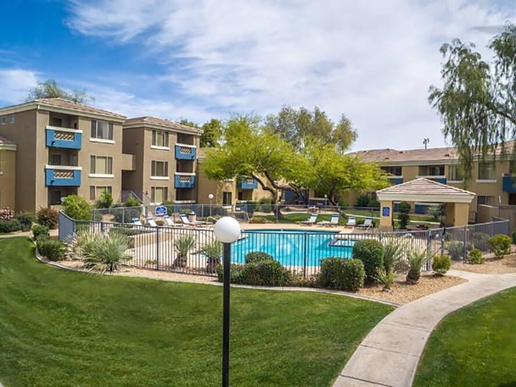 Pool at Indigo Creek Apartment Homes, Glendale, 85306