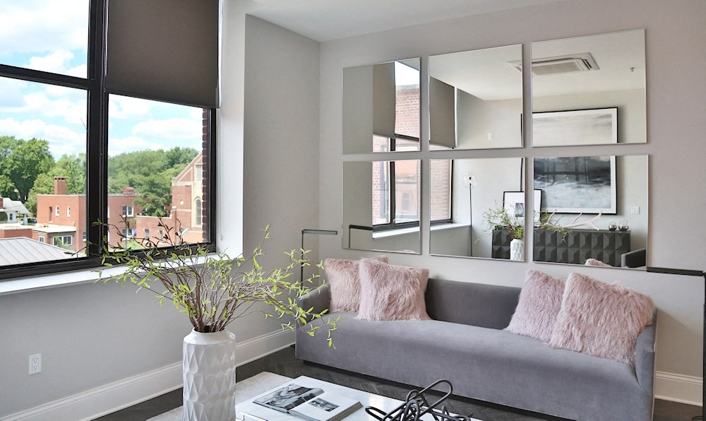 A one bedroom luxury apartment at The James Ferndale