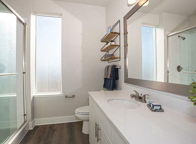 Custom Look Bathroom at Revolve at OneFifteen, Kansas, 66211