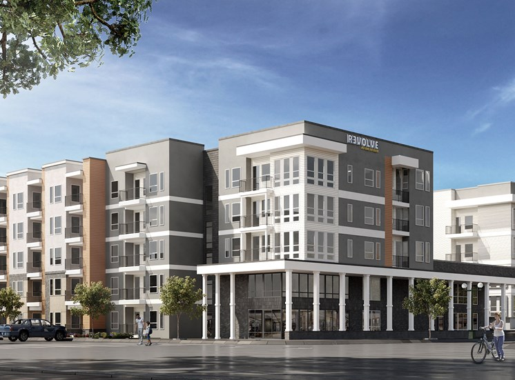 Exterior-Rendering at Revolve at OneFifteen