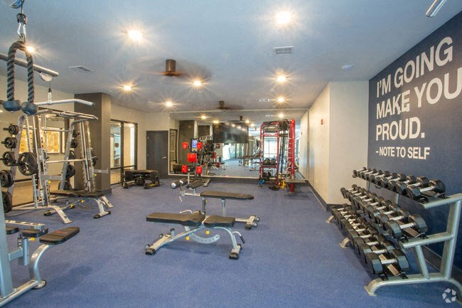 State-Of-The-Art Gym And Spin Studio at Revolve at OneFifteen, Kansas