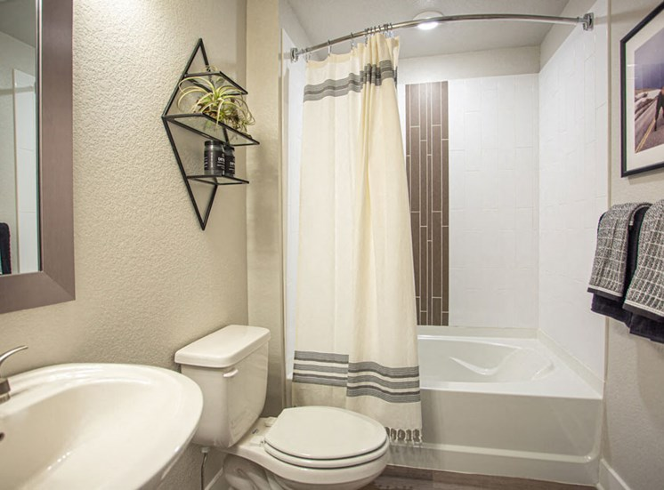 Updated Bathrooms at Revolve at OneFifteen, Overland Park, Kansas