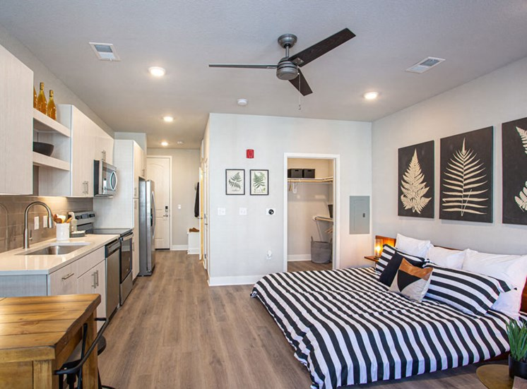 Studio Apartment Available at Revolve at OneFifteen, Overland Park, KS