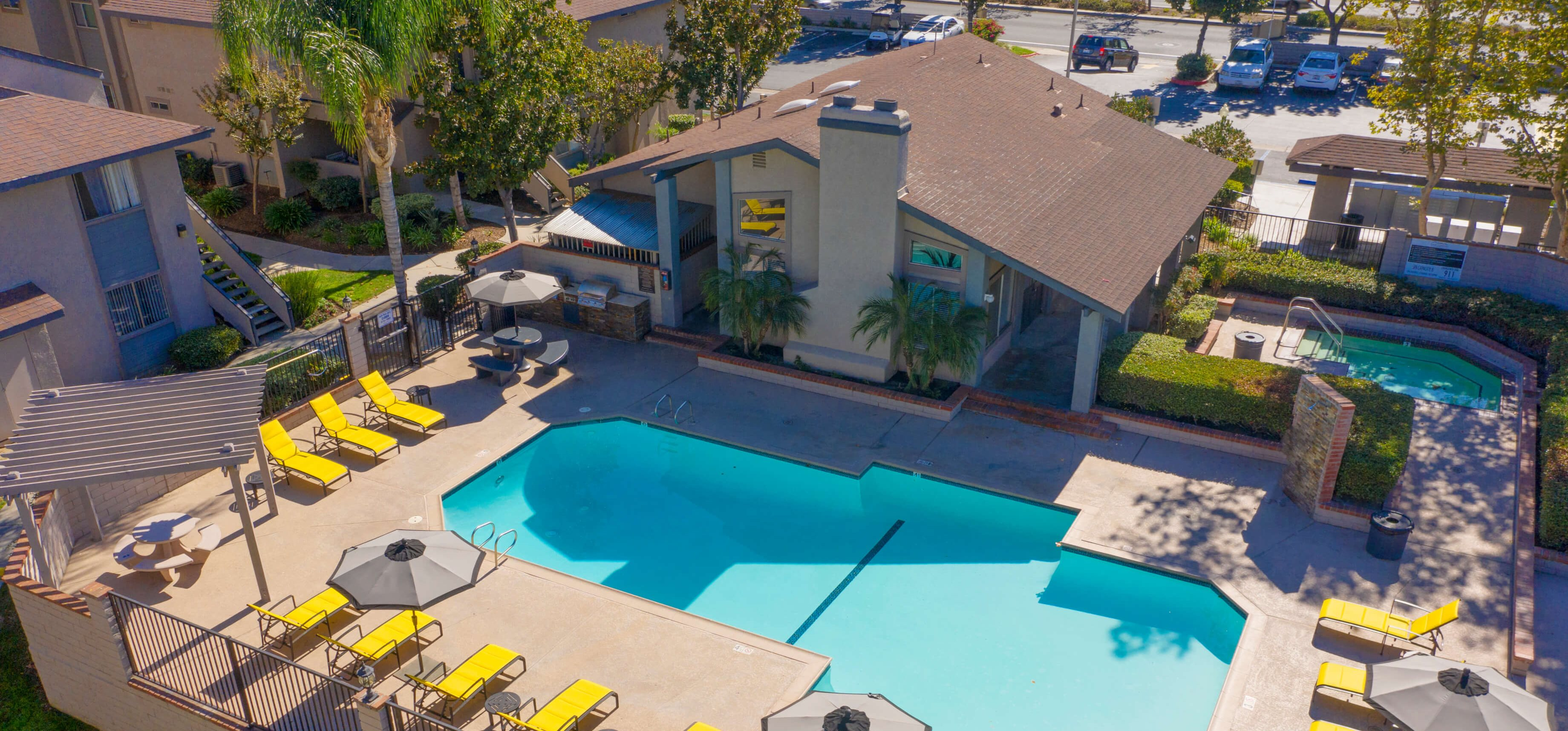 Pool View of Sage Canyon Apartments Temecula CA