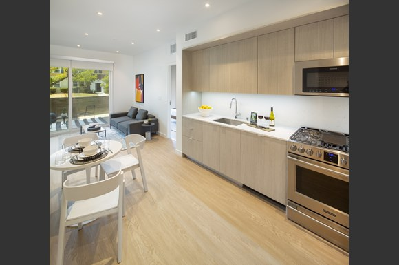 Chef Inspired Kitchens Feature Stainless Steel Appliances at Concourse, Los Angeles, 90045