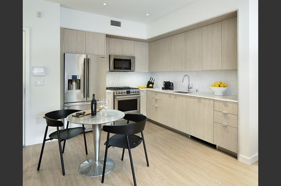 Well Equipped Kitchen And Dining at Concourse, Los Angeles