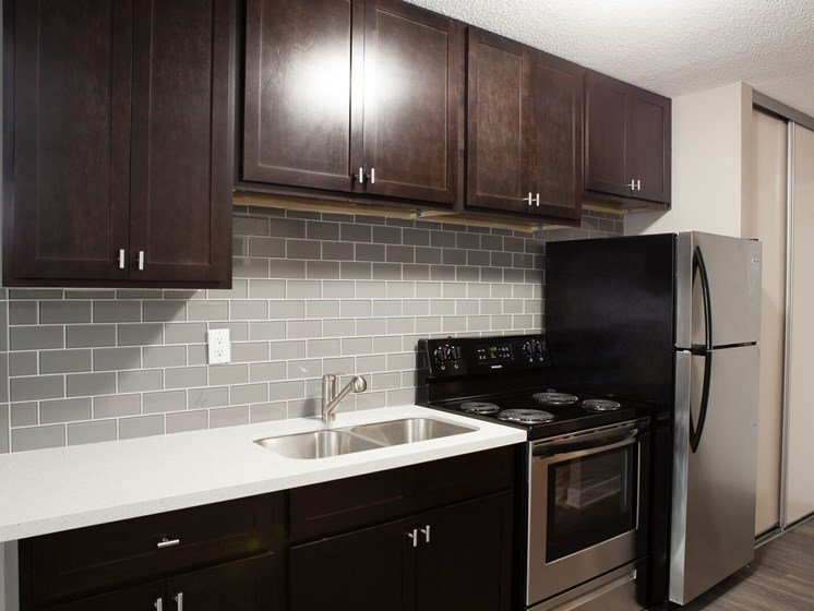 2611 studio kitchen stainless steel appliances