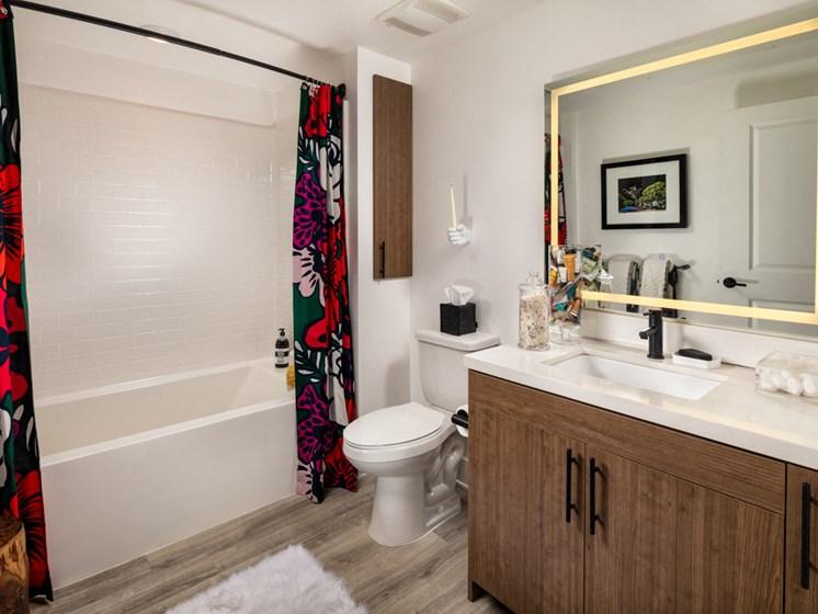 Clarendon One Bedroom Master Bath