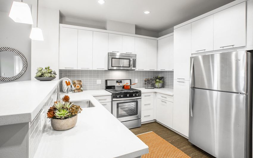 The Colony at The Lakes West Covina, CA Model Kitchen