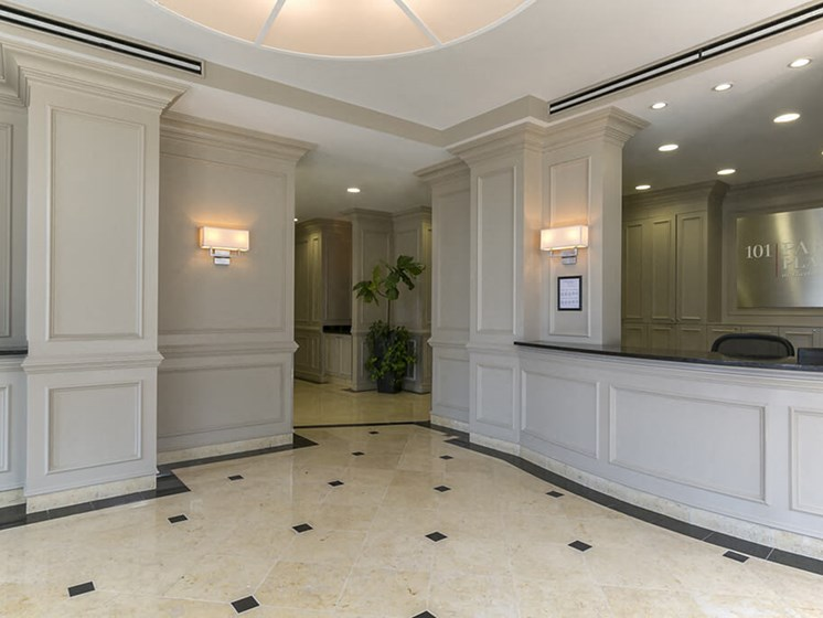Inviting Reception Area at 101 Park Place, Stamford, 6902