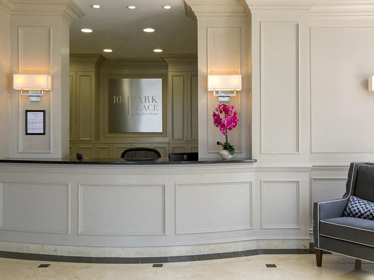 24-Hour Concierge Service at 101 Park Place, Stamford, Connecticut