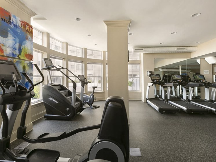 High-Tech Fitness Center at 101 Park Place, Stamford, 6902