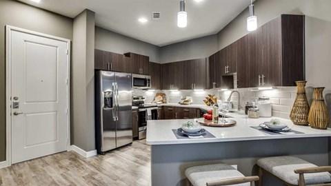 Richardson, apartments in Richardson, one bedroom apartment Richardson, stainless steel, kitchen