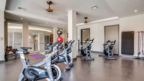 Richardson, apartments in Richardson, spin studio, spin, gym, gym in Richardson