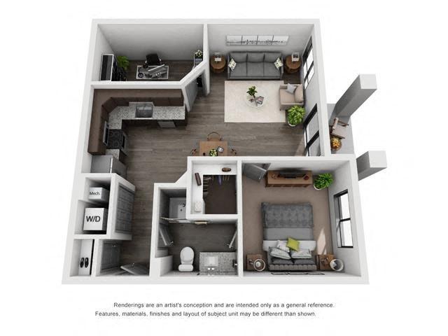 1A + Bonus Room