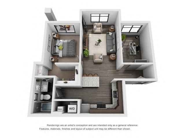 1C + Bonus Room