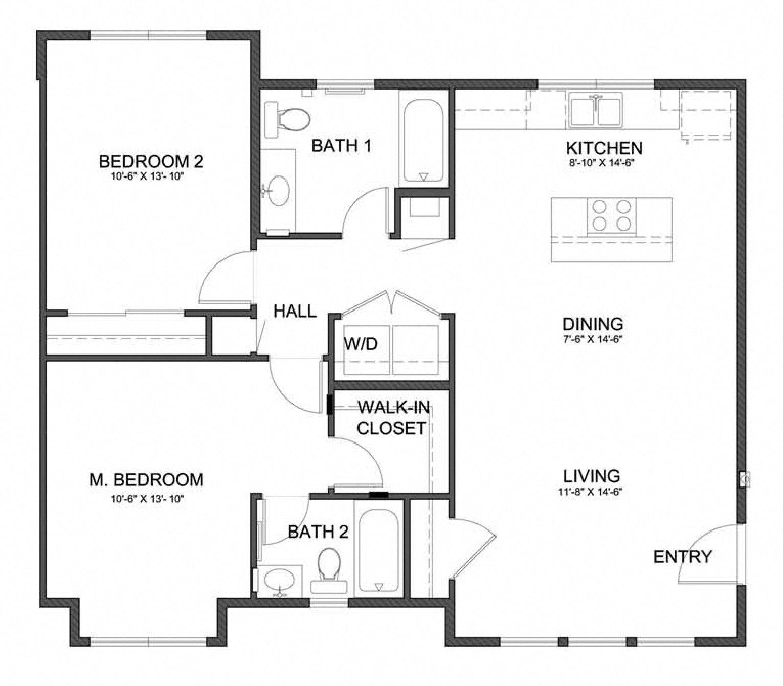 One And Two Bedroom Apartments In Sacramento, CA