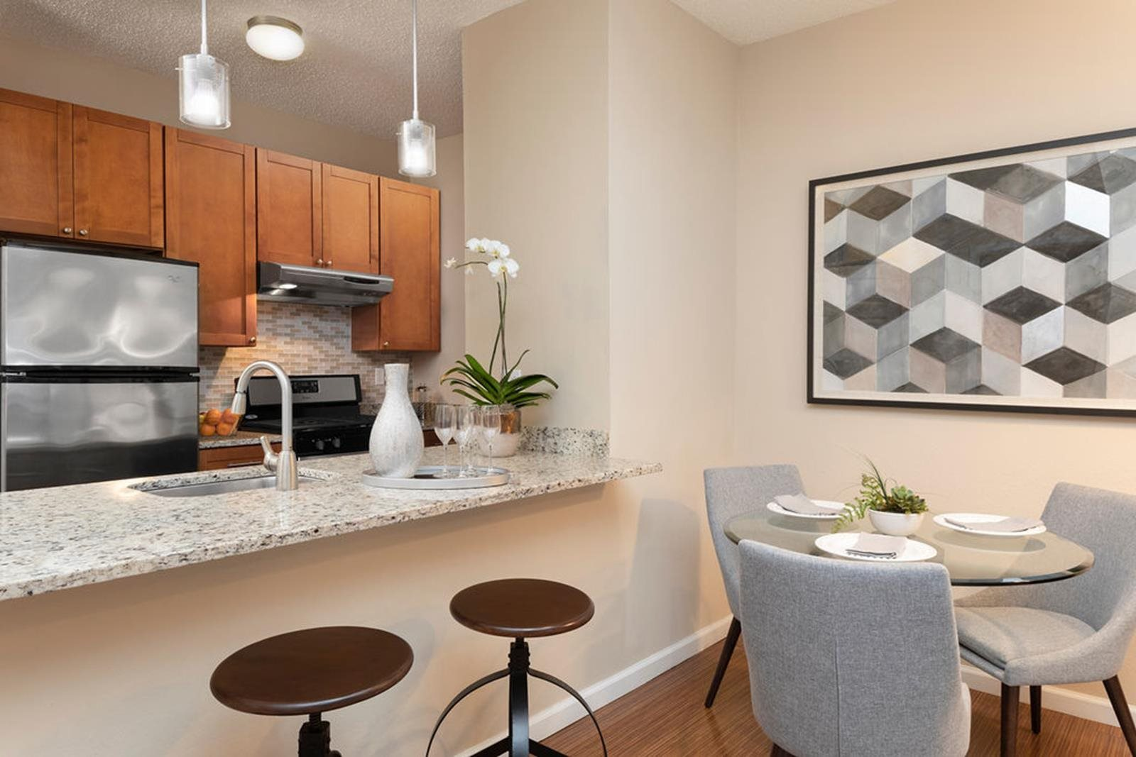 Granite Countertops In Kitchen at Parc Grove, Stamford, 06901
