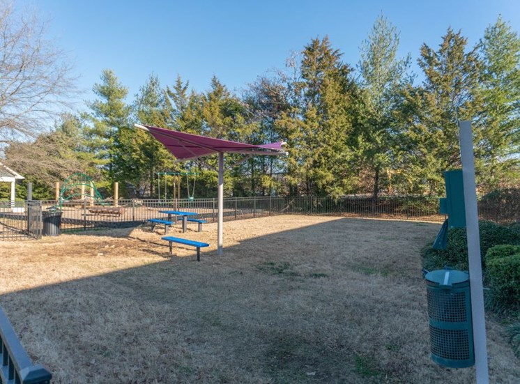 Playground, Slides, Climbing Equipment and Bike Parking at The Shallowford Apartment Homes, Chattanooga, TN 37421