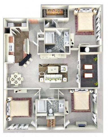 COTILLION Floor Plan at Crestmont at Thornblade, Greenville, 29615