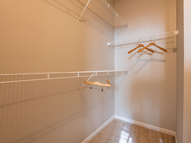 Large Walk-In Closets at Oberlin Court, Raleigh