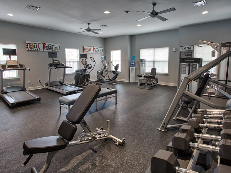 Fitness Center at The Kane at Gray's Landing apartments, PA 15001